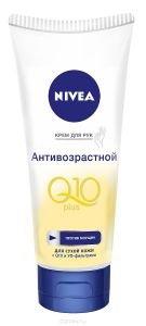 Антивозрастной крем для рук NIVEA Q10 PLUS