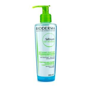 Bioderma Себиум – очищающий пенящийся гель