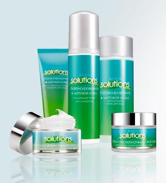 avon-solutions сбалансированная матовая кожа