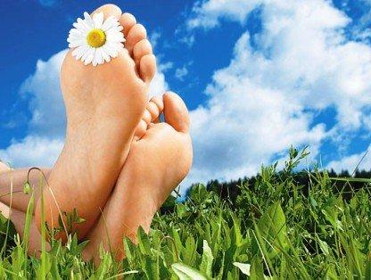 Здоровая кожа на ногах - гладкая и эластичная