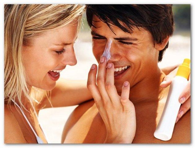 Солнцезащитный крем SPF 100 полезен для очень чувствительной кожи