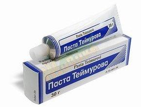 Паста Теймурова для ног