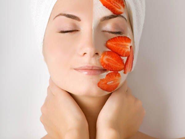 Ягодно-фруктовый крем для лица своими руками