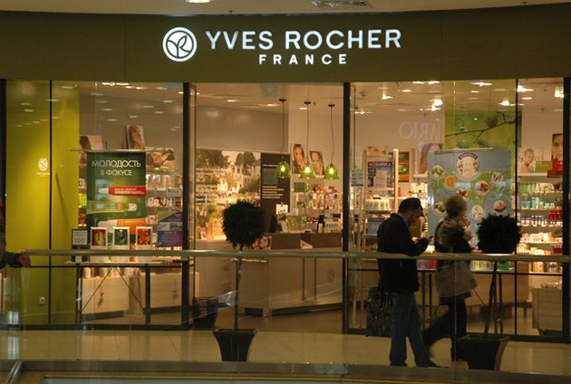Официальный магазин, продающий косметику Ив Роше