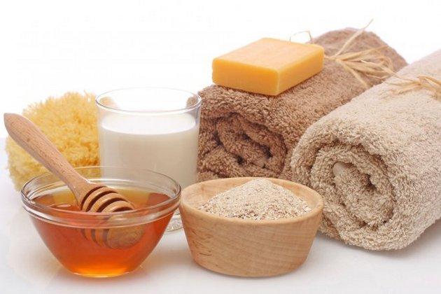 крем для тела своими руками из меда, освянки и молока