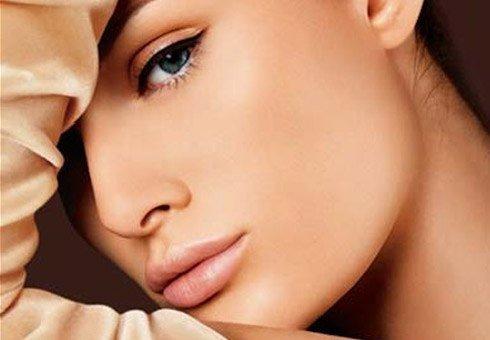 Эффект от крема для выравнивания кожи лица