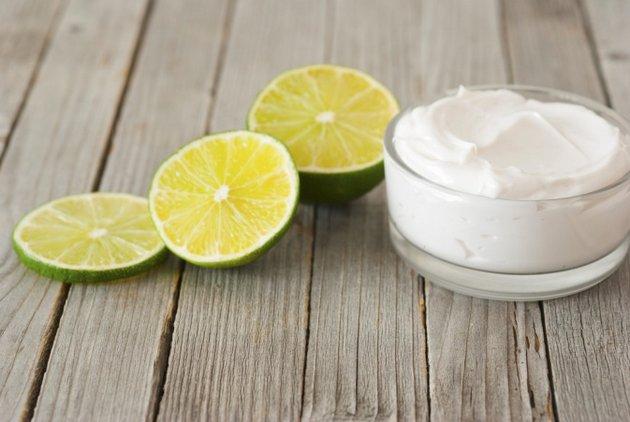 Натуральный крем для лица с лаймом