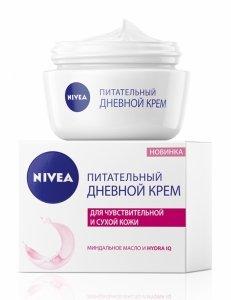 Nivea питательный дневной крем для сухой кожи