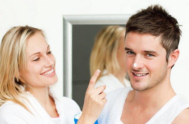 мужской крем от морщин необходимо использовать соответственно правилам нанесения