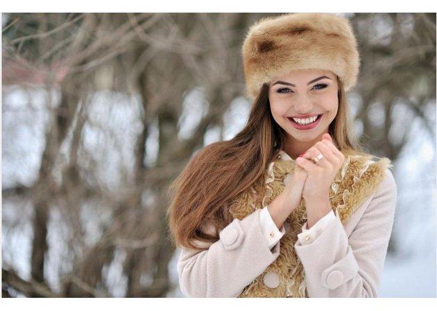Зимний крем защитит кожу лица от холода