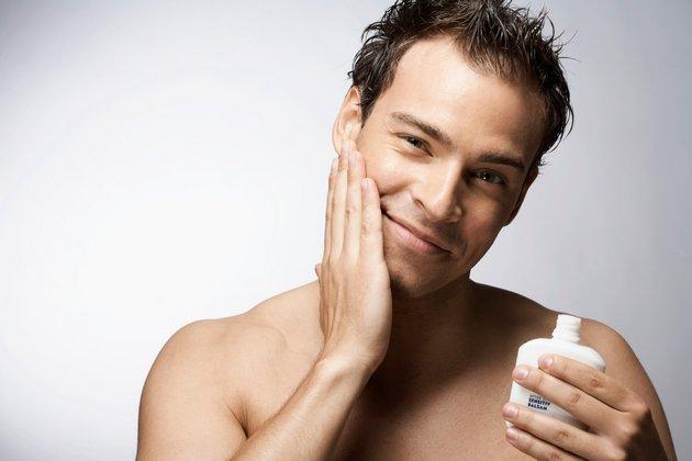крем после бритья поможет снять раздражение