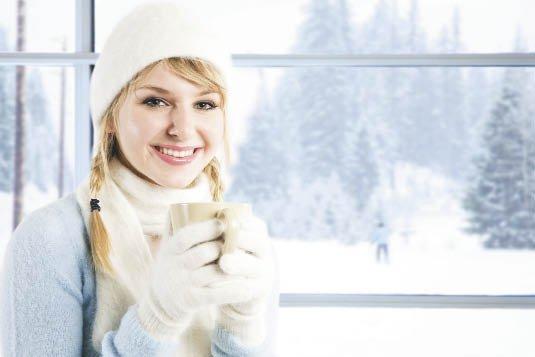 защитный зимний крем поможет сделать прогулки на улице приятнее