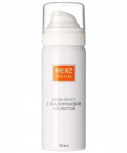 Крем мусс Merz с гиалуроновой кислотой
