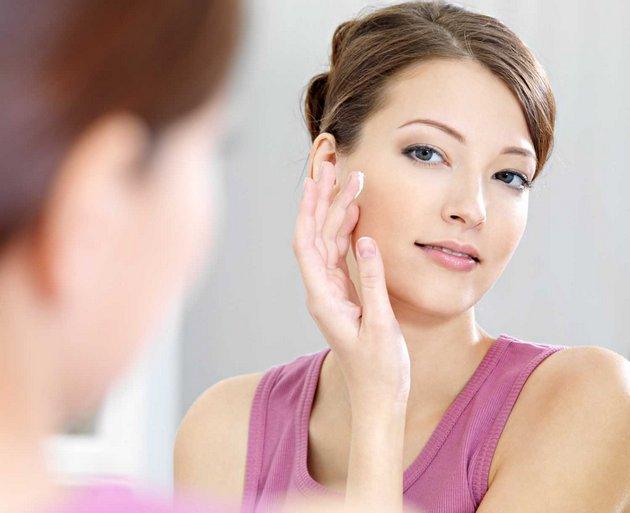 регенерирующий крем наносится на чистую кожу