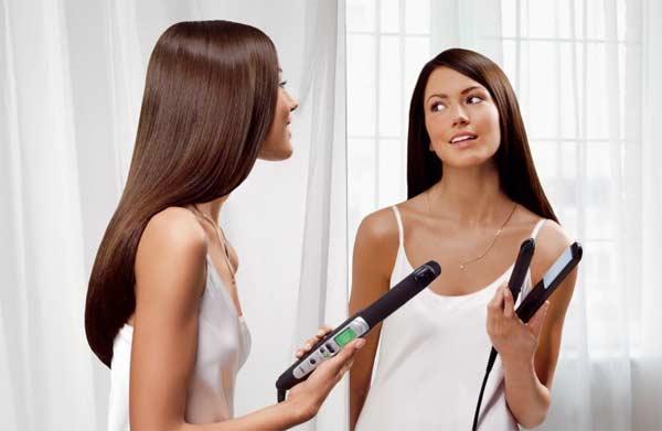 Даже самый дорогой утюжок сушит волосы