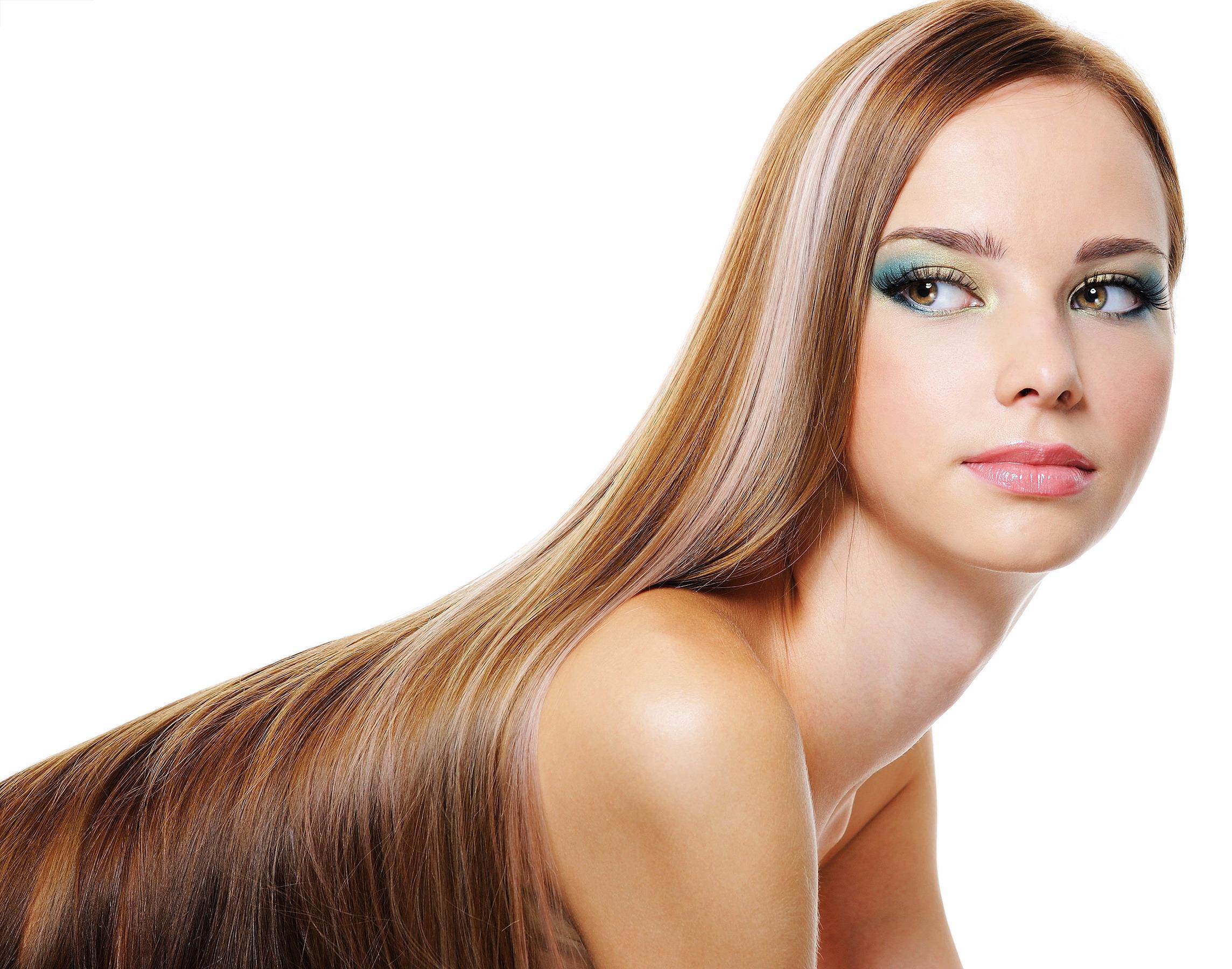 Достаточно увлажненный волосы выглядят роскошно