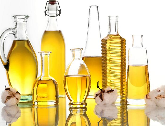 Растительные масла один из компонентов питательного крема