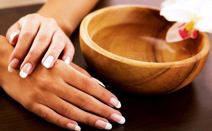крем для рук в домашних условиях рекомедуется наносить после ванночки