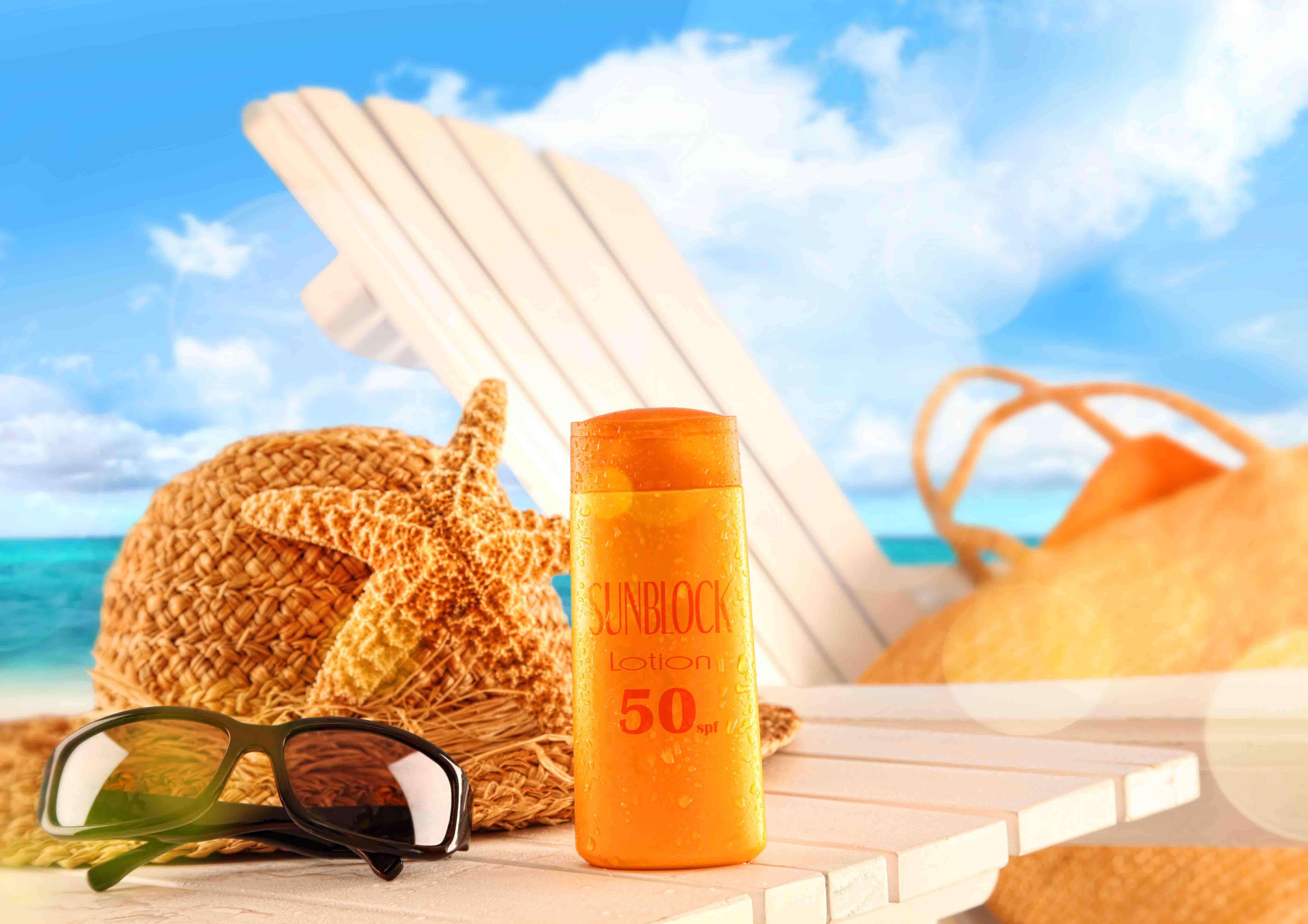 Солнцезащитный крем поможет защитить кожу