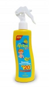 Молочко для защиты от солнца Африка кидс