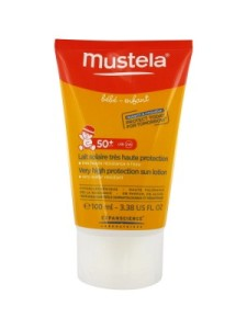 Mustela для детей SPF50 UVA 25PPD