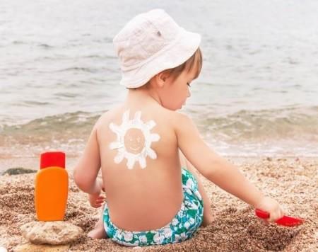 Солнцезащитный детский крем