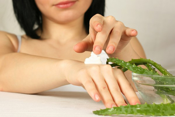 Экстракт алоэ в кремах полезен для ногтей и кожи