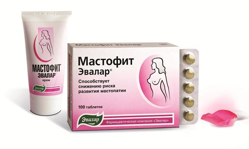 Крем и таблетки Мастофит