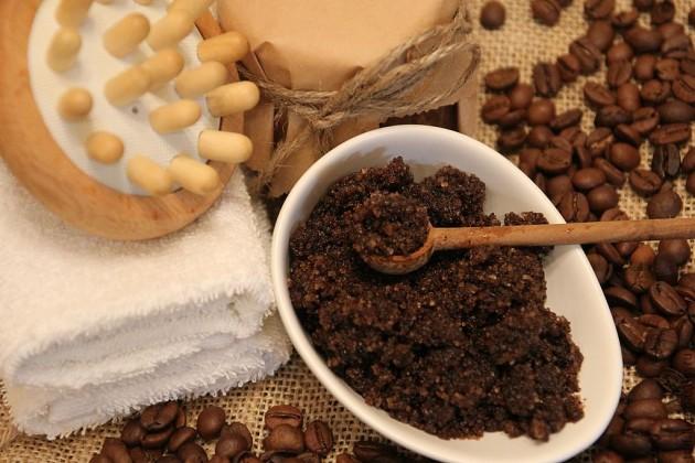 Кофейный скраб для сухой кожи лица