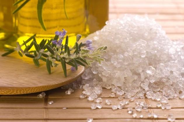 компоненты солевого скраба