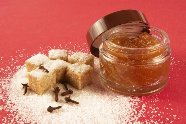 Сахарный скраб для лица