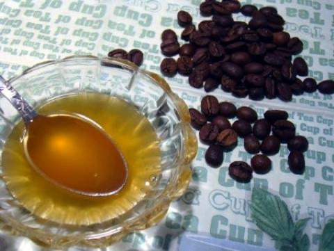 Скраб кофе и мед