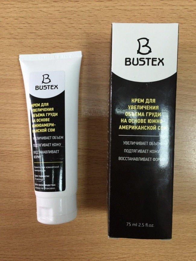 Упаковка крема для увеличения груди Бюстекс