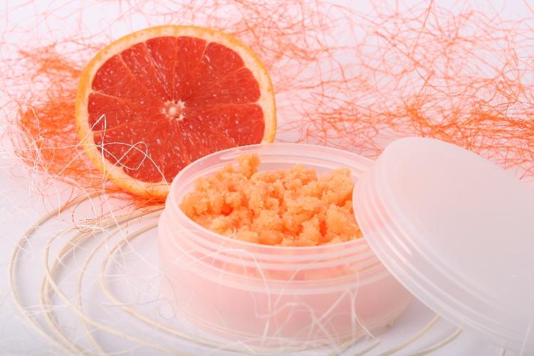 Цитрусовый скраб от растяжек в домашних условиях