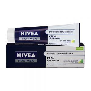 Крем для бритья nivea для чувствительной кожи