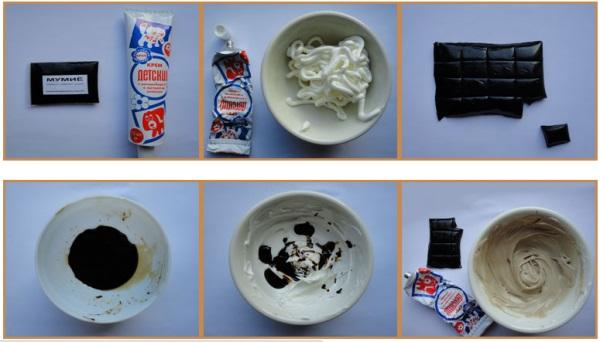 Крем от растяжек с мумие и шоколадом